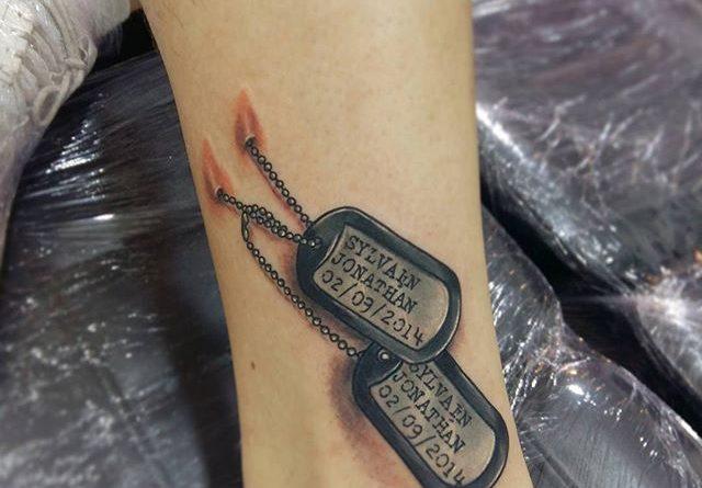 Shin Tattoo | Veteran Ink