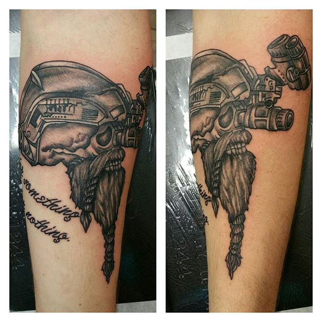 Special Ops Forearm Tattoo