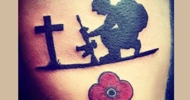 Fallen Soldier Tribute Tattoo