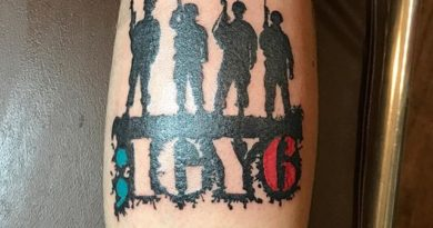 ;IGY6 Forearm Tattoo