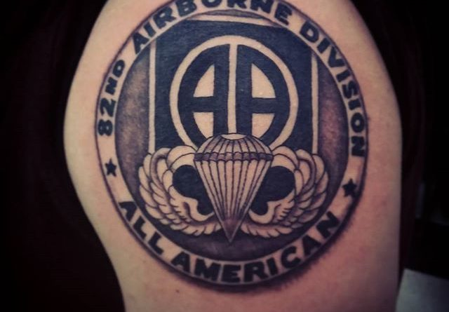 U s army airborne ranger tattoos pictures to pin on for 101st airborne tattoos