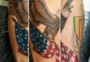 American Eagle Forearm Tattoo