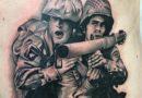 3D Army Vet Tattoo