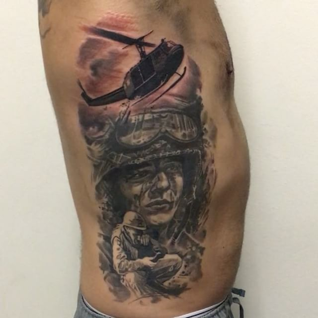 Veteran tattoos images reverse search for Oif tattoo designs