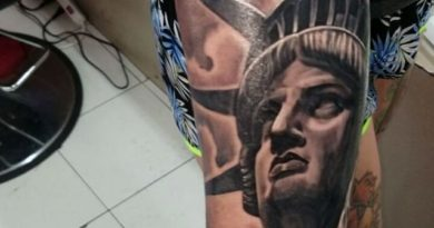 Liberty Forearm Tattoo
