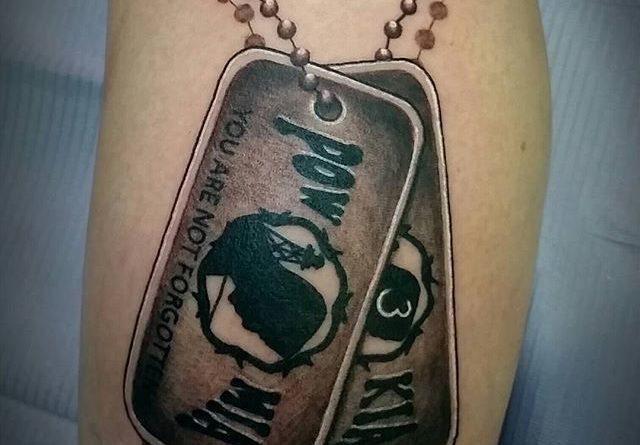 POW Forearm Tattoo