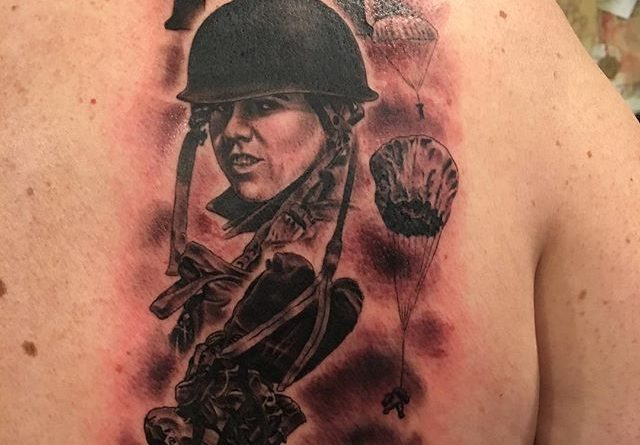 101st back tattoo veteran ink for 101st airborne tattoos