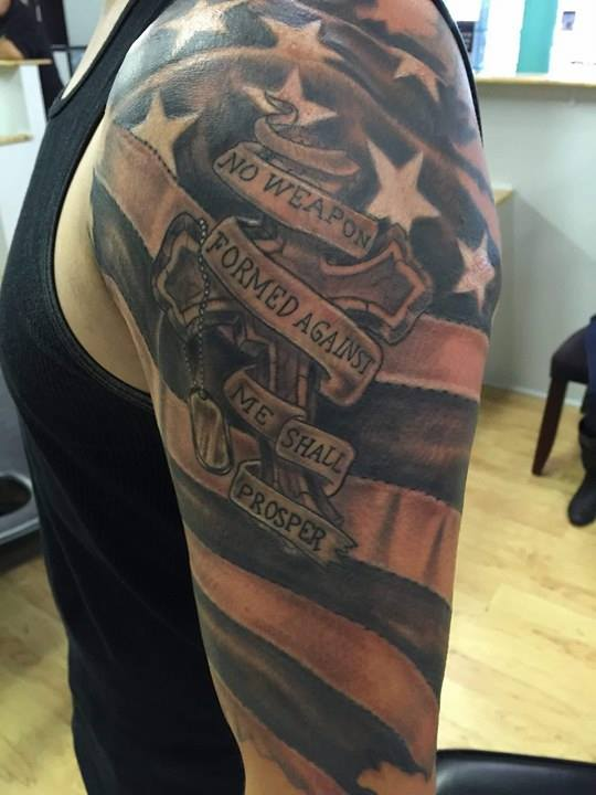 Veteran Chase Troutman Commemoration Tattoo