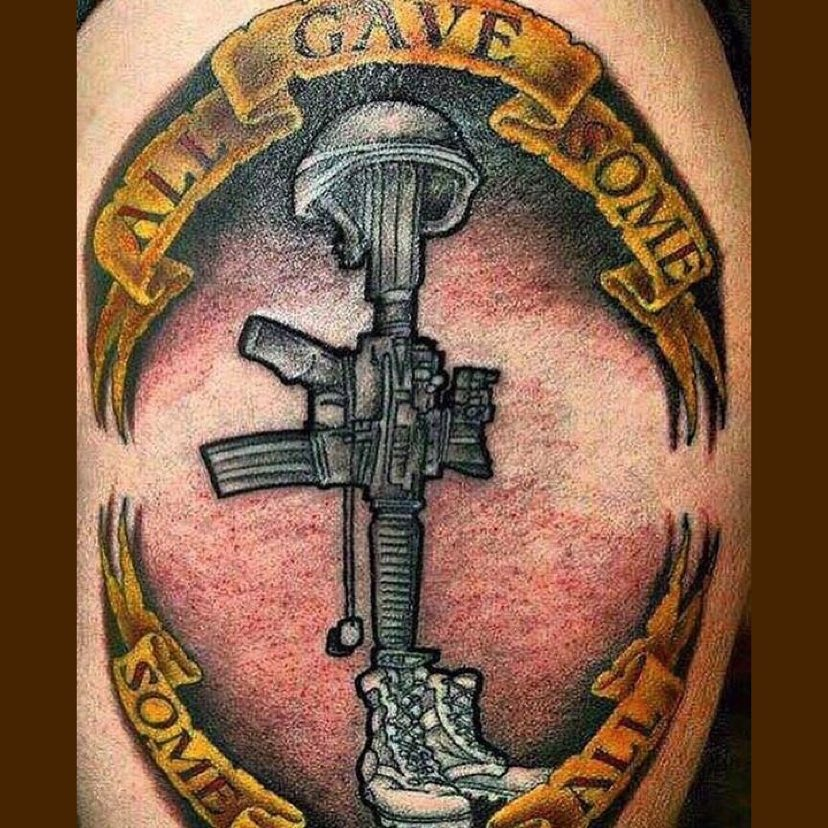 Honoring Passed Veterans Tattoo