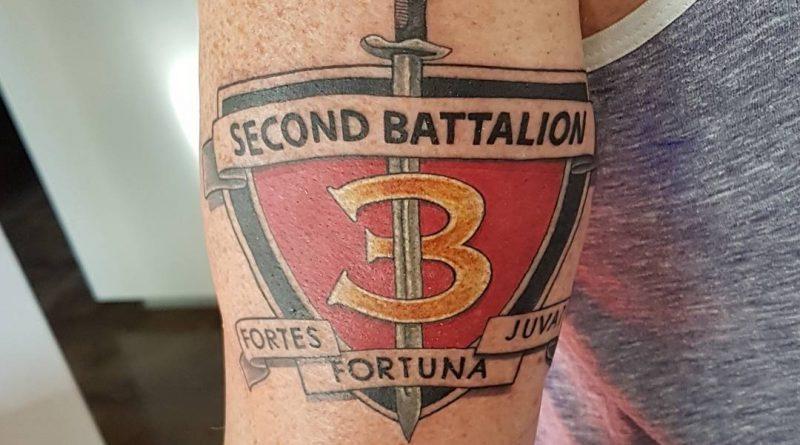 Marine Battalion Tattoo