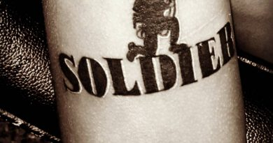 Soldier Trademark Tattoo