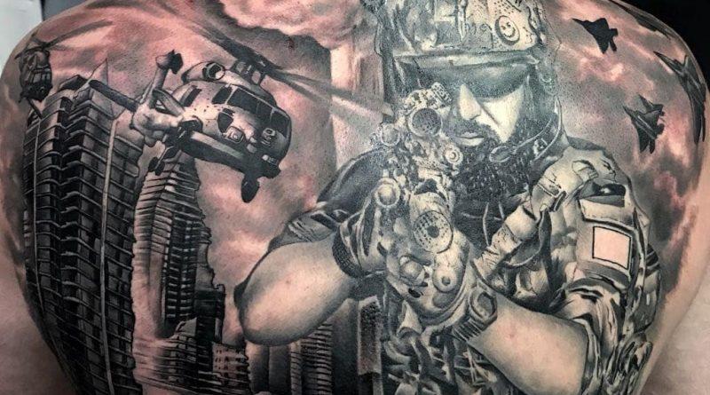 Active War Zone Tattoo