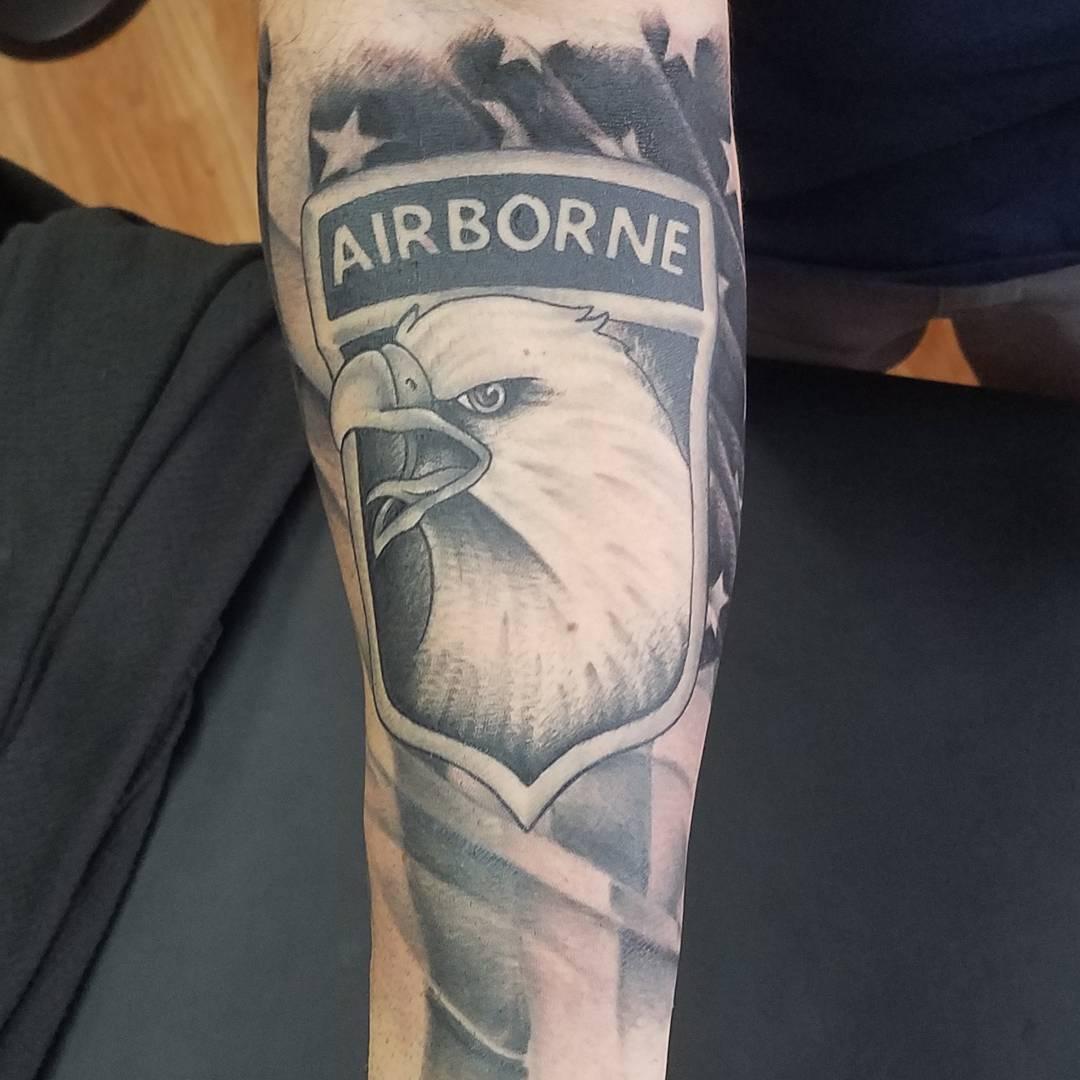 Army Emblem Tattoo