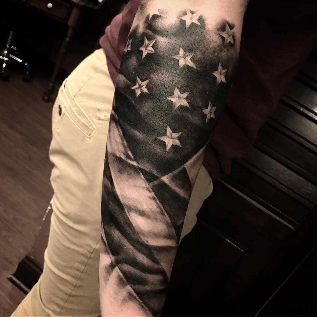 Flag Arm Sleeve