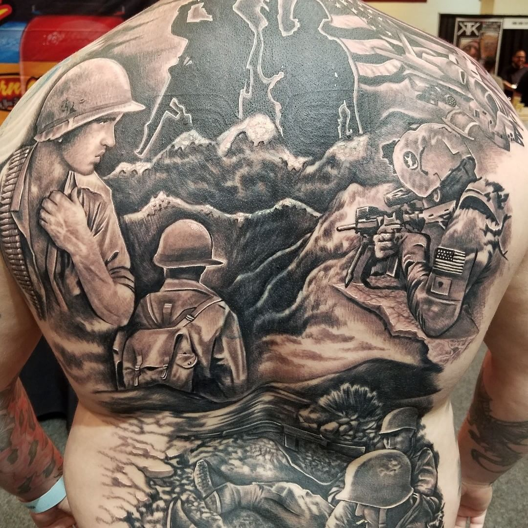 Veteran Battle Tattoo
