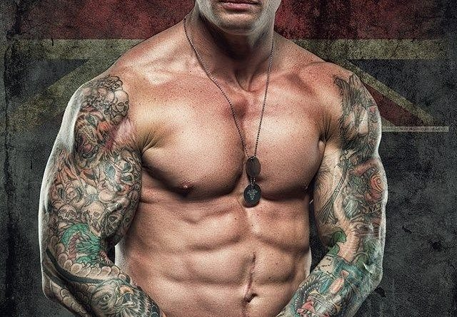 British Royal Marine Sleeve Tattoos