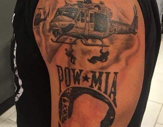 POW Arm Tattoo
