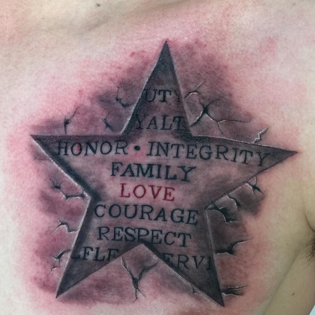 Star Honor Tattoo