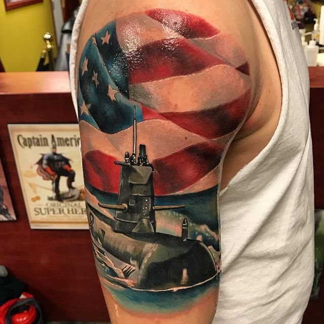 Down Periscope Navy Tattoo